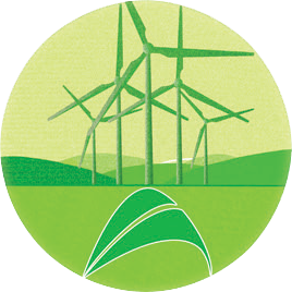 Resultado de imagem para logo marca da energia eolica